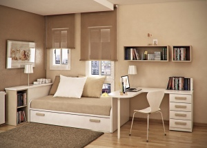 Taupe-beige-kids-room
